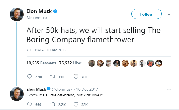 You Musk have this hat