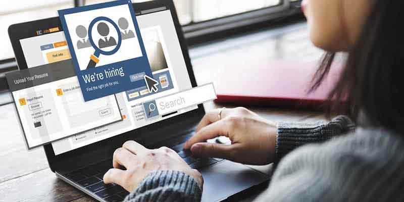 Buscar trabajo por internet